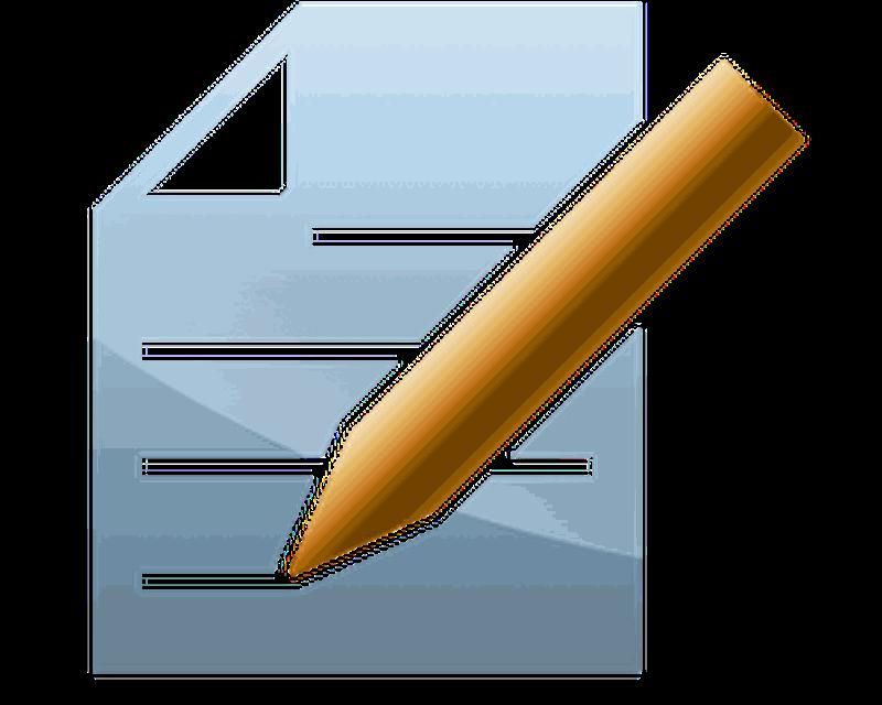 Текстовом редакторе блокнот