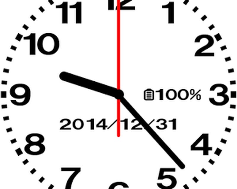 скачать заставка стрелочные часы цифровые на телефон № 13111 бесплатно
