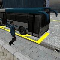 Icône de 3D City driving - Bus Parking