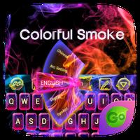 Ícone do Colorful Smoke Keyboard Theme
