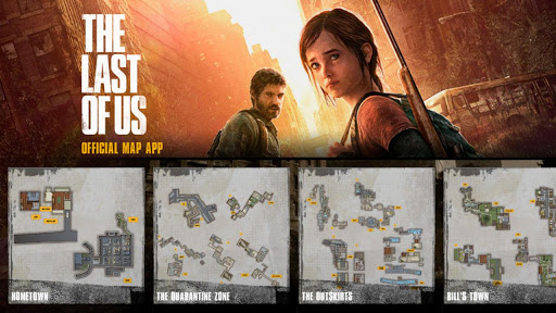 The Last of Us Map App App Android - Kostenloser Download The Last ...