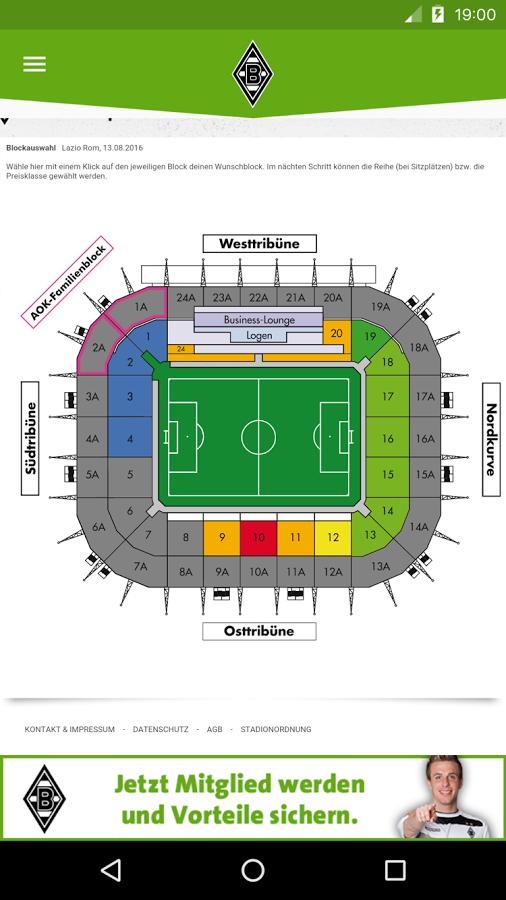 Borussia Mönchengladbach App Android Kostenloser Download Borussia
