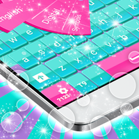 Ícone do Teclado colorido para Android