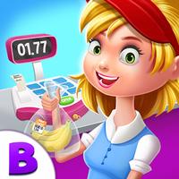 슈퍼마켓 상점 매니저 - 어린이를위한 게임 아이콘