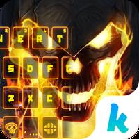 Ikon Halloween Ghost Keyboard Theme