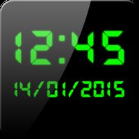 デジタル時計 ウィジェット APK アイコン