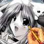 рисовать аниме - манга 2.1.1