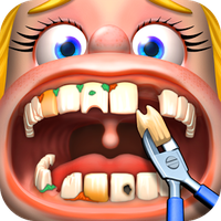 Crazy Dentist - Fun games Simgesi