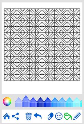 Halaman Mewarnai Geometris Android Free Download Halaman Mewarnai