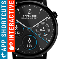Icono de Ksana Sweep Watch Face for Android Wear