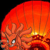Chinese Lantern - Naruto Tails