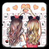 Icono de Nuevo tema de teclado Best Friend Forever