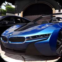 Car Parking Bmw i8 Simulator apk icon