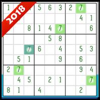 Icône apk Master Sudoku Offline Free 2018