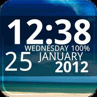 Digi Clock Widget apk icon