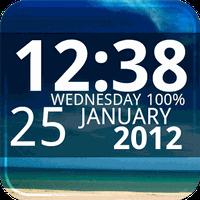 Digi Clock Widget apk icon