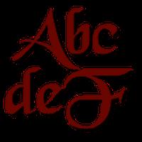 Ícone do apk Gothic para FlipFont® livre