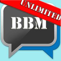 Ikon apk BBM Unlimited Edition