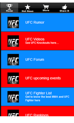 Unofficial UFC Result Schedule Android - Baixar Unofficial