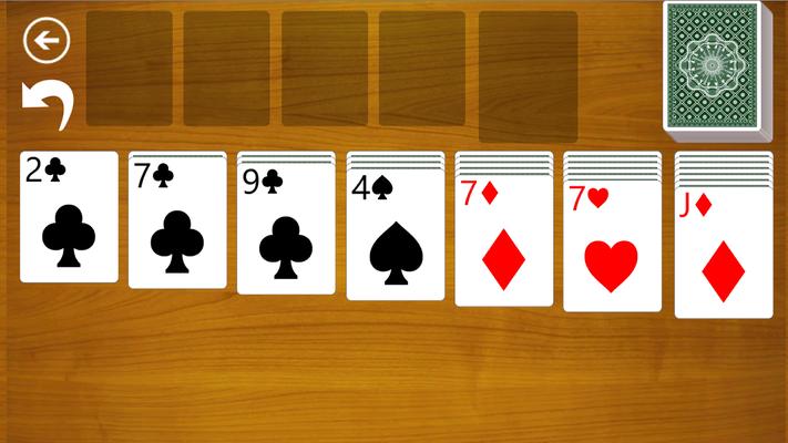 Kostenloses Solitär Kartenspiel