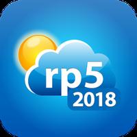 Иконка Погода рп5 (2018)