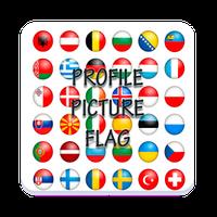 Ícone do apk picture profile flag