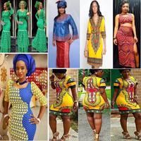 Icône de Modèle Tenue Femme Africaine ♥