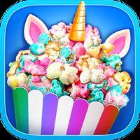 Unicorn Food - Rainbow Popcorn Party APK Icon