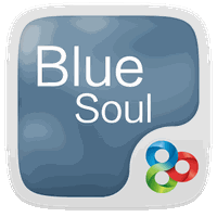 Blue Soul GO Launcher Theme apk icon