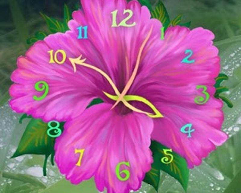 Flower Clock Live Wallpaper 4.7.3mr