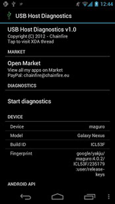 USB Host Diagnostics Android - Free Download USB Host