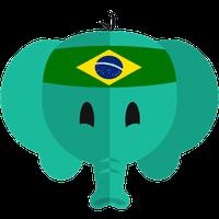 Ícone do Aprenda Português do Brasil