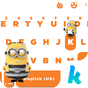 Despicable Me 3 Kika Emoji Theme