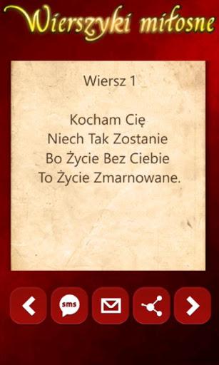 Pobierz Wierszyki Miłosne 203 Za Darmo W Apk Na Androida