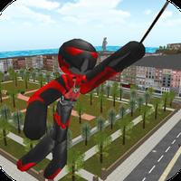 Icône de Stickman Rope Hero
