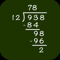 Ícone do Matemática: Divisão