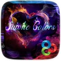 Smoke Colors GO Launcher Theme icon