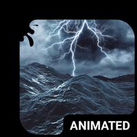 Ícone do Teclado Mar Tempestuoso