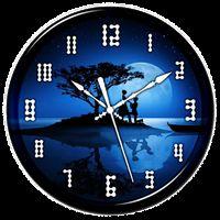 Night Clock Live Wallpaper Simgesi