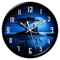 Night Clock Live Wallpaper