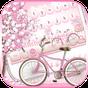 ธีมคีย์บอร์ดของ Sakura Bicycle 10001002