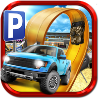 3D Monster Truck Parking Game Simgesi