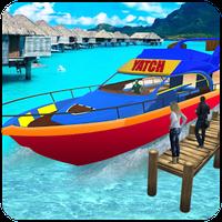 Εικονίδιο του νερό ταξί πραγματικός σκάφος οδήγηση 3D apk
