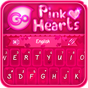GO Keyboard Pink Hearts Theme 1.0.5