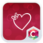Valentine 's Love Heart Theme  APK