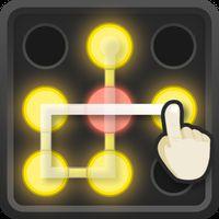 Ícone do apk Neon Hack: Pattern Lock Game