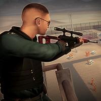 Sniper Duty: Prison cour