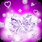 다이아몬드 하트 라이브 배경화면 1.3