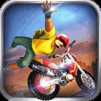 Icône de Motocross Trial - Xtreme Bike