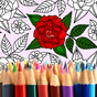 Adult Coloring: Flowers 2.4.2